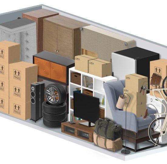 10 dzīves/biznesa situācijas, kad mantu uzglabāšanas konteinera noma ir 100% Tava labākā izvēle